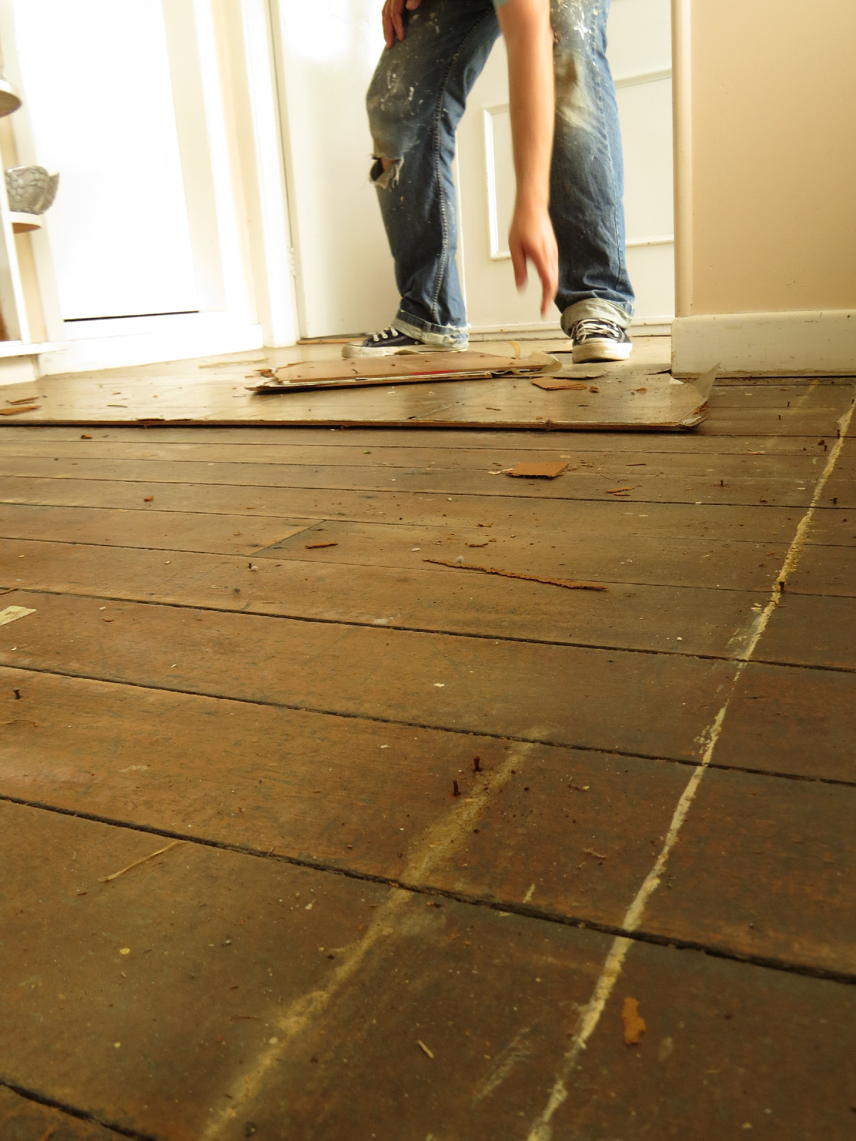 matai flooring pre work